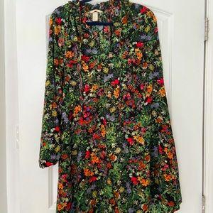 H&M floral dress, size 12